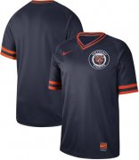 Wholesale Cheap Nike Tigers Blank Navy Authentic Cooperstown Collection Stitched MLB Jersey