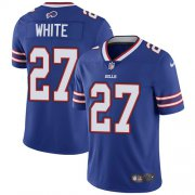 Wholesale Cheap Nike Bills #27 Tre'Davious White Royal Blue Team Color Youth Stitched NFL Vapor Untouchable Limited Jersey