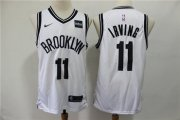 Wholesale Cheap Nets 11 Kyrie Irving White Nike Swingman Jersey