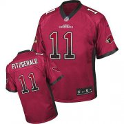Wholesale Cheap Nike Cardinals #11 Larry Fitzgerald Red Team Color Men's Stitched NFL Elite Drift Fashion Jersey
