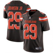 Wholesale Cheap Nike Browns #29 Duke Johnson Jr Brown Team Color Men's Stitched NFL Vapor Untouchable Limited Jersey