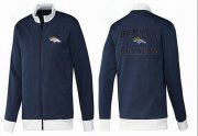 Wholesale NFL Denver Broncos Heart Jacket Dark Blue