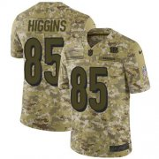 Wholesale Cheap Nike Bengals #85 Tee Higgins Camo Youth Stitched NFL Limited 2018 Salute To Service Jersey