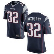 Wholesale Cheap Nike Patriots #32 Devin McCourty Navy Blue Team Color Youth Stitched NFL New Elite Jersey