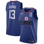 Wholesale Cheap Clippers 13 Paul George White Nike Number Swingman Jersey