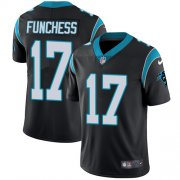 Wholesale Cheap Nike Panthers #17 Devin Funchess Black Team Color Men's Stitched NFL Vapor Untouchable Limited Jersey