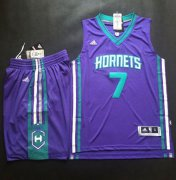 Wholesale Cheap Hornets #7 Jeremy Lin Purple A Set Stitched NBA Jersey