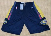 Wholesale Cheap Men's New Orleans Pelicans Navy Blue Basketball Shorts