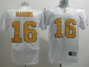 Wholesale Cheap Tennessee Volunteers #16 Peyton Manning White Jersey