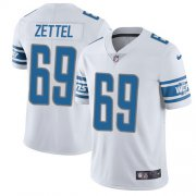 Wholesale Cheap Nike Lions #69 Anthony Zettel White Youth Stitched NFL Vapor Untouchable Limited Jersey