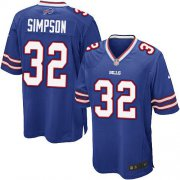 Wholesale Cheap Nike Bills #32 O. J. Simpson Royal Blue Team Color Youth Stitched NFL New Elite Jersey
