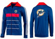 Wholesale Cheap MLB Chicago Cubs Zip Jacket Blue_3