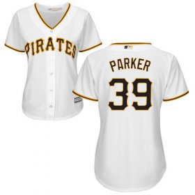 Wholesale Cheap Pirates #39 Dave Parker White Home Women\'s Stitched MLB Jersey