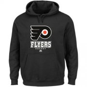 Wholesale Cheap Philadelphia Flyers Majestic Big & Tall Critical Victory Pullover Hoodie Black