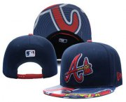 Wholesale Cheap MLB Atlanta Braves Snapback Ajustable Cap Hat YD 3