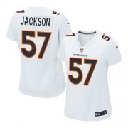 Wholesale Cheap Nike Broncos #57 Tom Jackson White Women's Stitched NFL Game Event Jersey