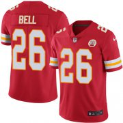 Wholesale Cheap Nike Chiefs #26 Le'Veon Bell Red Team Color Men's Stitched NFL Vapor Untouchable Limited Jersey