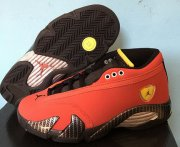 Wholesale Cheap Air Jordan 14 Retro GS Ferrari Red/Black-Yellow