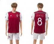 Wholesale Cheap Lorado Rapids #8 Powers Home Soccer Club Jersey