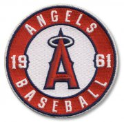Wholesale Cheap Stitched MLB Los Angeles Angels of Anaheim Round Sleeve '1961' Patch (2012)
