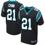 Wholesale Cheap Nike Panthers #21 Jeremy Chinn Black Team Color Men's Stitched NFL Vapor Untouchable Elite Jersey