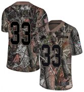 Wholesale Cheap Nike Lions #33 Kerryon Johnson Camo Youth Stitched NFL Limited Rush Realtree Jersey