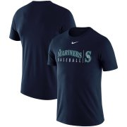 Wholesale Cheap Seattle Mariners Nike MLB Practice T-Shirt Navy