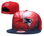 Wholesale Cheap Patriots Team Logo Black Red Galaxy Adjustable Hat GS