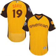Wholesale Cheap Orioles #19 Chris Davis Gold Flexbase Authentic Collection 2016 All-Star American League Stitched MLB Jersey