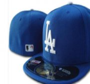 Wholesale Cheap Los Angeles Dodgers fitted hats 01