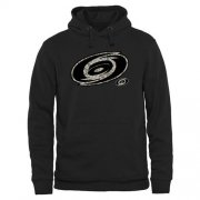 Wholesale Cheap Men's Carolina Hurricanes Black Rink Warrior Pullover Hoodie