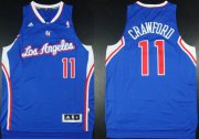 Wholesale Cheap Los Angeles Clippers #11 Jamal Crawford Revolution 30 Swingman Blue Jersey