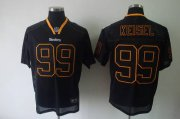 Wholesale Cheap Steelers #99 Brett Keisel Lights Out Black Stitched NFL Jersey