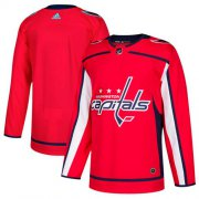 Wholesale Cheap Adidas Capitals Blank Red Home Authentic Stitched NHL Jersey