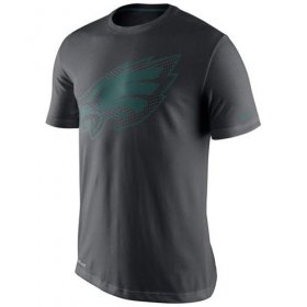 Wholesale Cheap Philadelphia Eagles Nike Team Travel Performance T-Shirt Charcoal