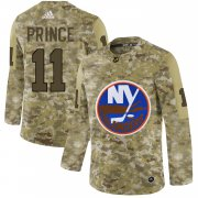 Wholesale Cheap Adidas Islanders #11 Shane Prince Camo Authentic Stitched NHL Jersey