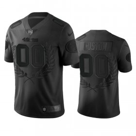 Wholesale Cheap San Francisco 49ers Custom Men\'s Nike Black NFL MVP Limited Edition Jersey