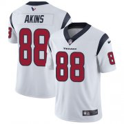 Wholesale Cheap Nike Texans #88 Jordan Akins White Youth Stitched NFL Vapor Untouchable Limited Jersey