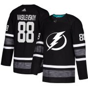 Wholesale Cheap Adidas Lightning #88 Andrei Vasilevskiy Black Authentic 2019 All-Star Stitched NHL Jersey