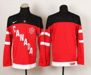 Wholesale Cheap Olympic CA. Blank Red 100th Anniversary Stitched NHL Jersey