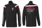 Wholesale Cheap MLB Texas Rangers Zip Jacket Black