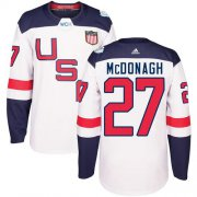 Wholesale Cheap Team USA #27 Ryan McDonagh White 2016 World Cup Stitched Youth NHL Jersey