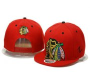 Wholesale Cheap Chicago Blackhawks Snapback Ajustable Cap Hat GS
