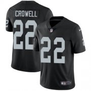 Wholesale Cheap Nike Raiders #22 Isaiah Crowell Black Team Color Men's Stitched NFL Vapor Untouchable Limited Jersey