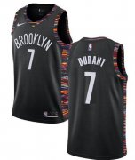 Wholesale Cheap Mens Brooklyn Nets #7 Kevin Durant Nike Black City Edition 2019-20 Jersey