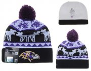 Wholesale Cheap Baltimore Ravens Beanies YD012
