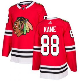 Wholesale Cheap Adidas Blackhawks #88 Patrick Kane Red Home Authentic Stitched NHL Jersey