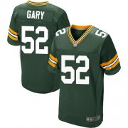 Wholesale Cheap Nike Packers #52 Rashan Gary Green Team Color Men's Stitched NFL Elite Jersey