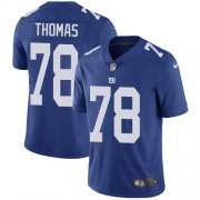 Wholesale Cheap Nike Giants #78 Andrew Thomas Royal Blue Team Color Youth Stitched NFL Vapor Untouchable Limited Jersey