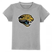 Wholesale Cheap Jacksonville Jaguars Sideline Legend Authentic Logo Youth T-Shirt Grey